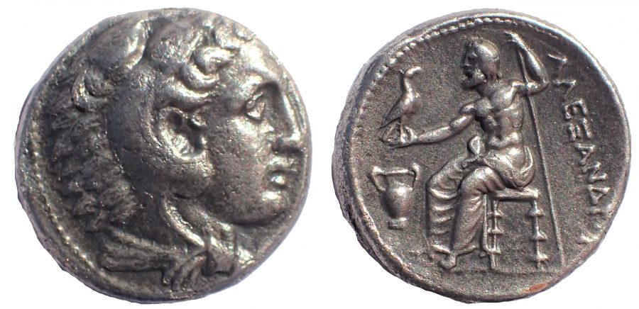 Kings of Macedon. Alexander III the Great (336-323 BC). AR tetradrachm. Lifetime issue of Amphipolis