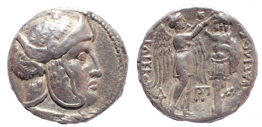 Seleukid Kings. Seleukos I Nikator, 312-281 BC. Ar Tetradrachm. Rare.