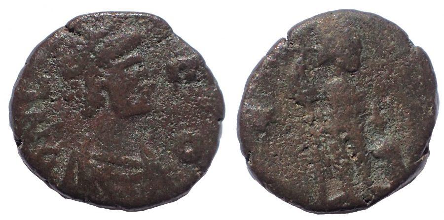 Leo I (457-474). Nummus. Constantinople.