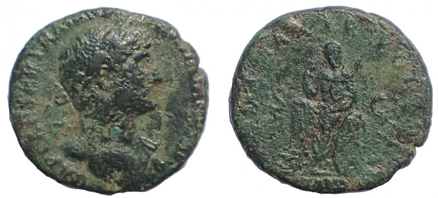 Hadrian (117-138). As. Britannia, Very Rare.