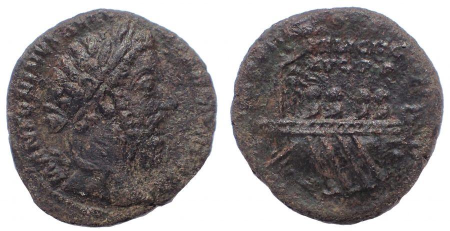 Marcus Aurelius (161-180). Æ As. FELICITATI.