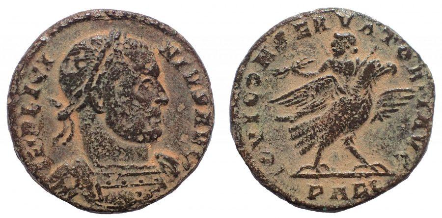 Licinius I. AD 308-324. Æ Argenteus. Arelate (Arles) mint