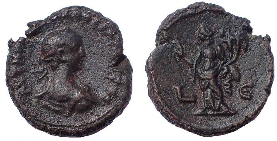 Egypt, Alexandria. Vabalathus, Son of Zenobia, AD 268-272. Tetradrachm. Very Rare.
