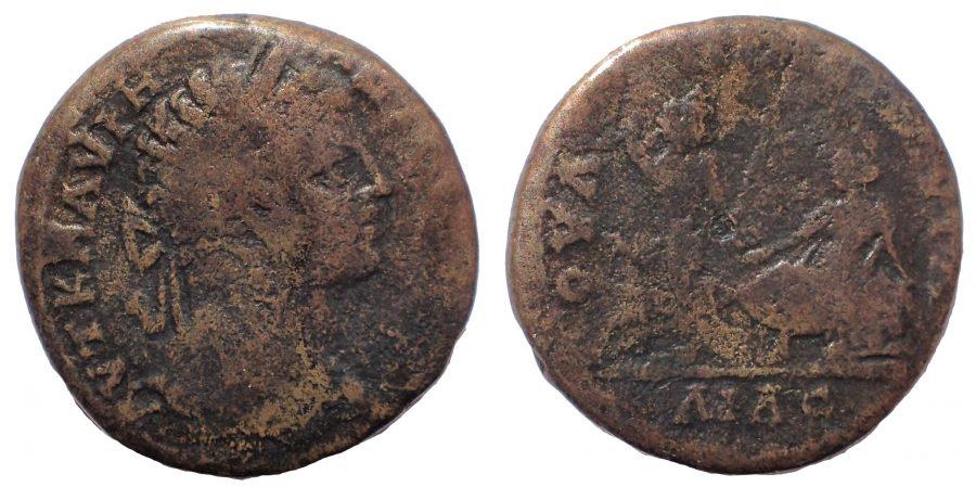 "Thrace. Pautalia. Caracalla (197-217). Ae. 28 ""Invitation to the dance"" Very Rare."