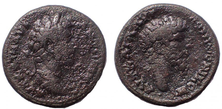 Bithynia. Nikomedia. Marcus Aurelius and Lucius Verus AD 161-169. Æ 25. Rare.
