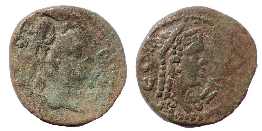 Caria. Amyzon. Pseudo-autonomous issue AD 120-180. Æ 17. Very Rare.